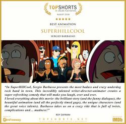 2018 08 Best Animation - SuperHillCool