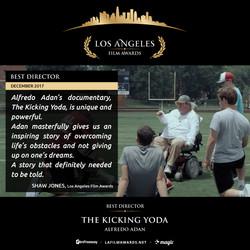 The Kicking Yoda - Best Director - 2017 12