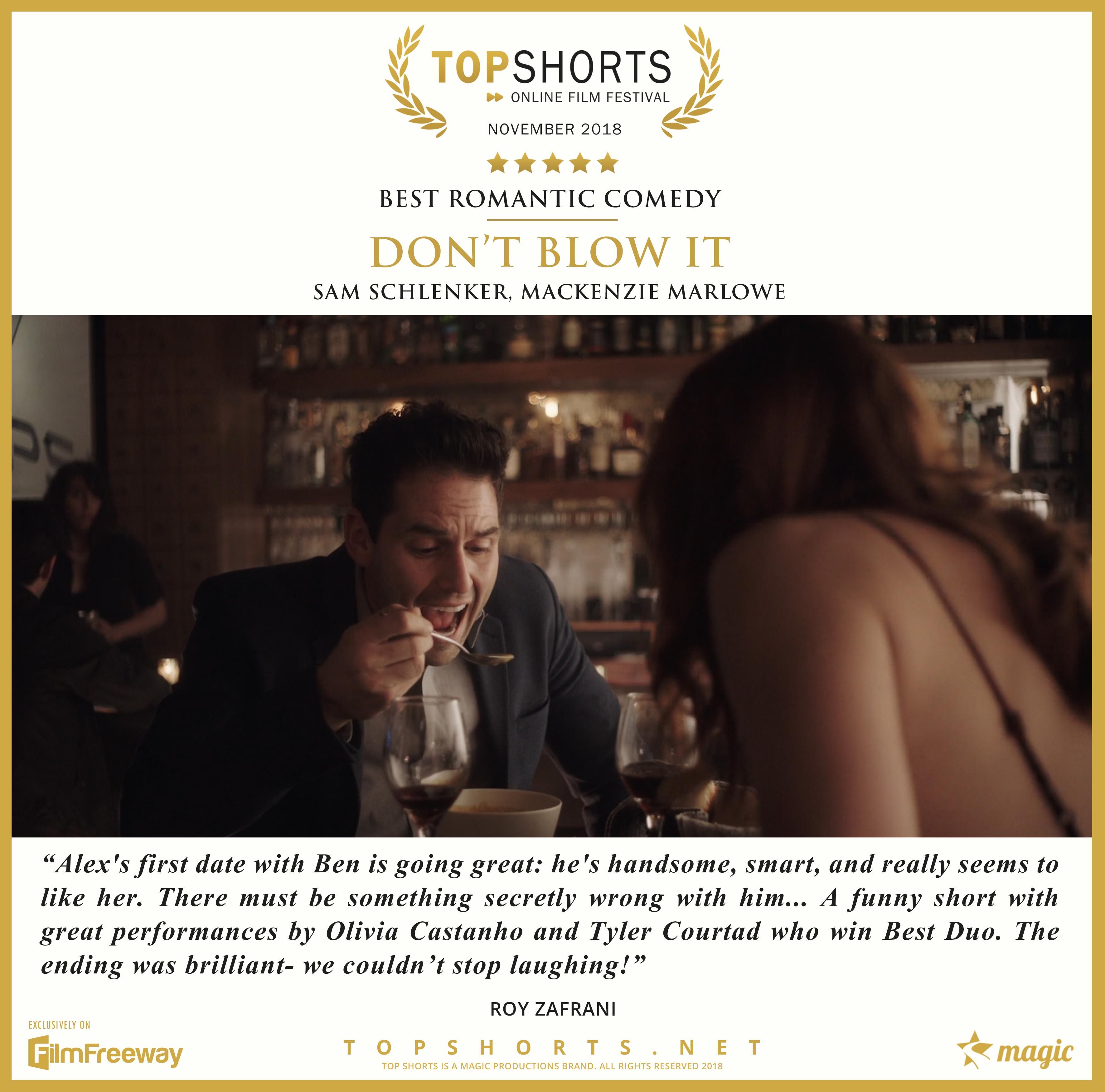 2018 11 Best Romantic Comedy - Don't Blo