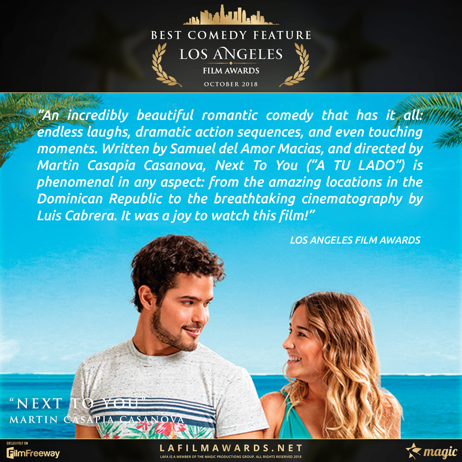 Next To You - LAFA Best Comedy Feature -