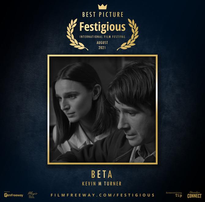 Festigious Winners - August 2021