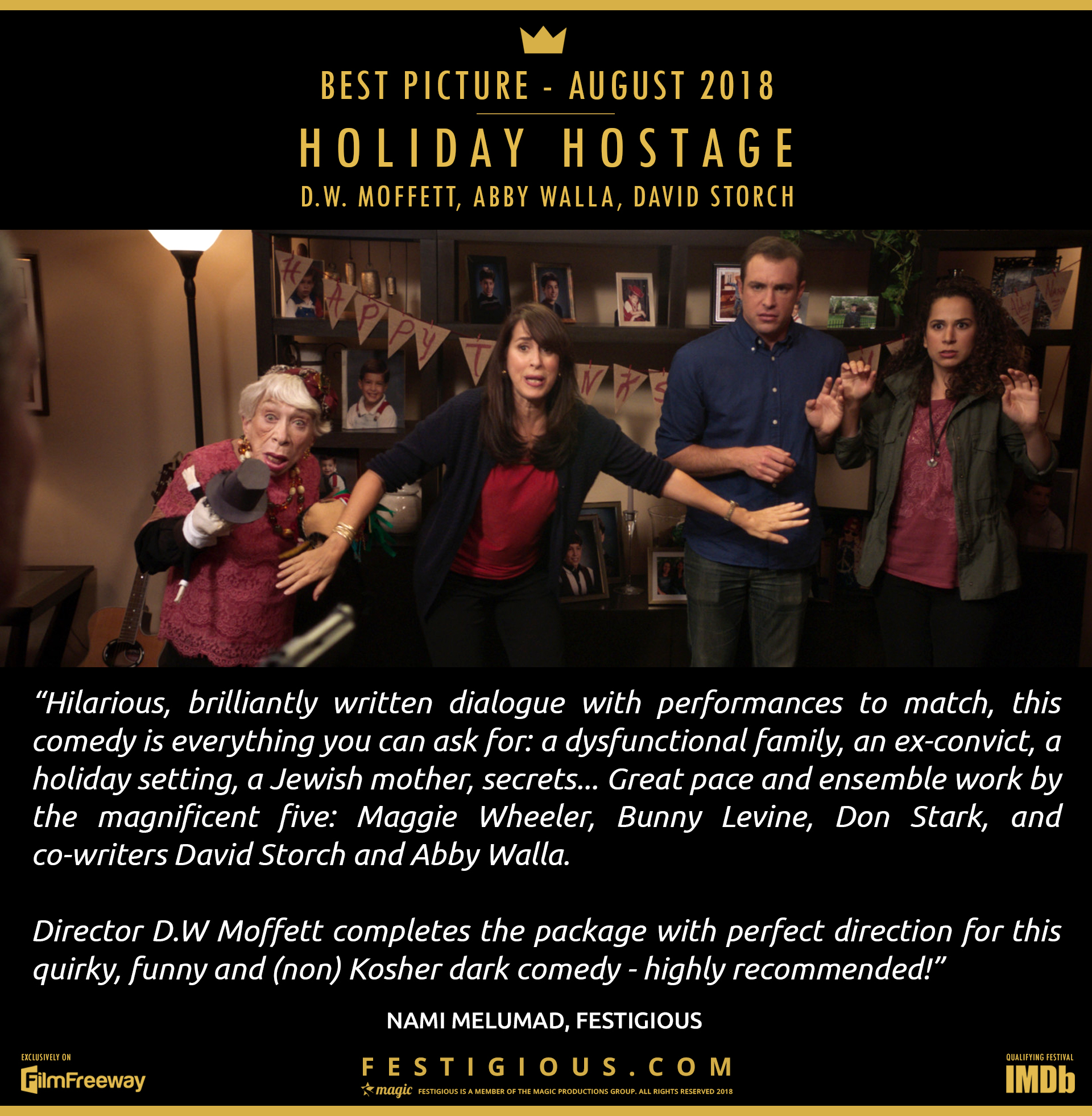 Holiday Hostage - Best Picture