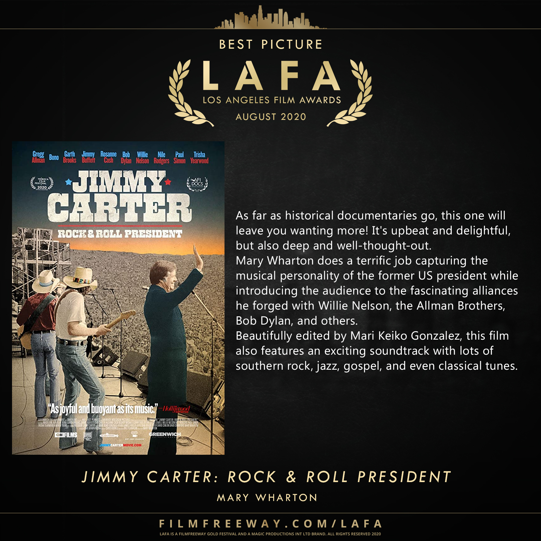 Jimmy Carter Rock & Roll President revie