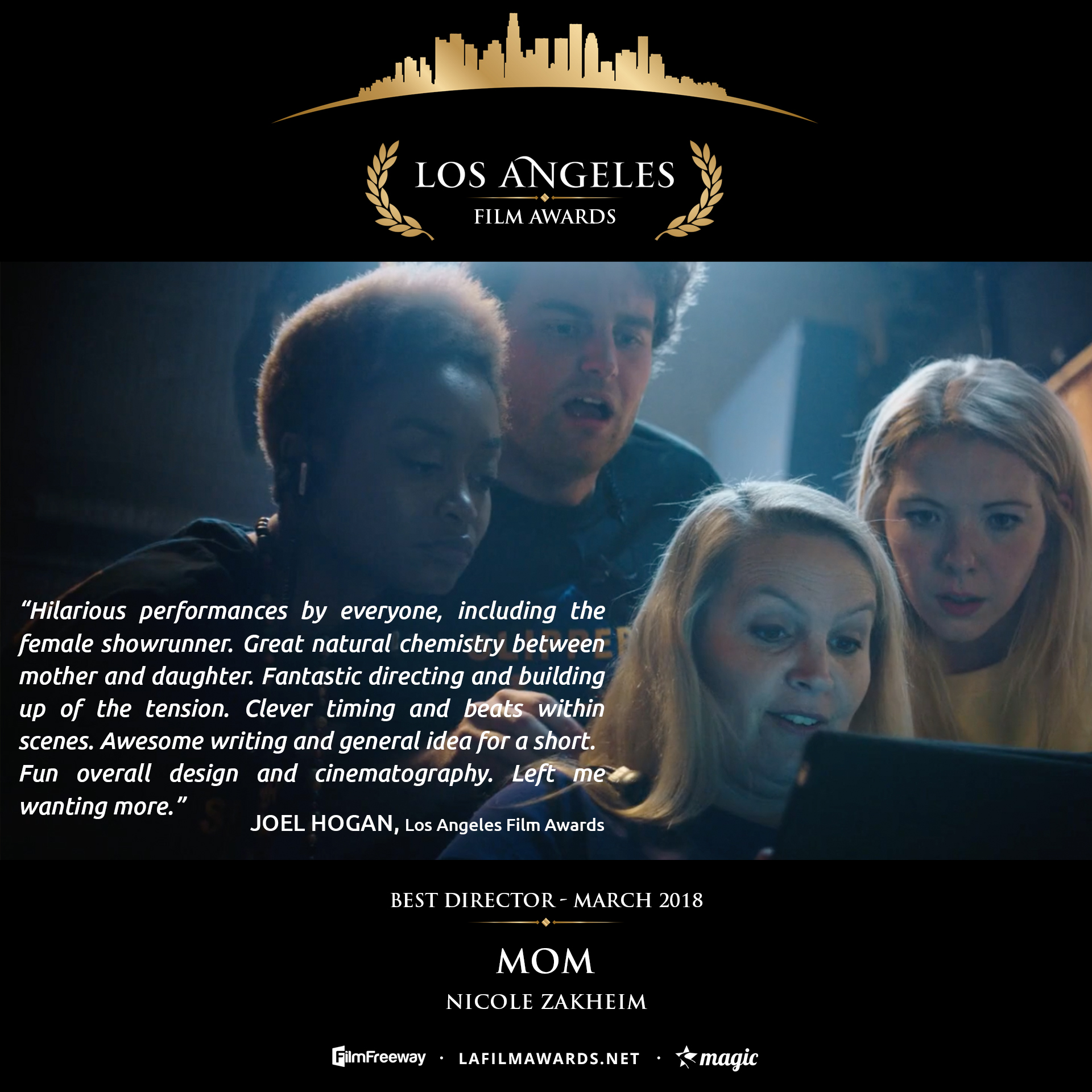 MOM - LAFA Best Director - Review