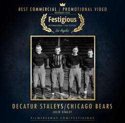 Decatur Staleys Chicago Bears design