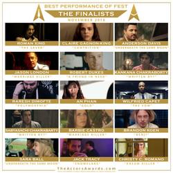 2018 11 finalists