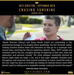 Chasing Sunshine - Best Director