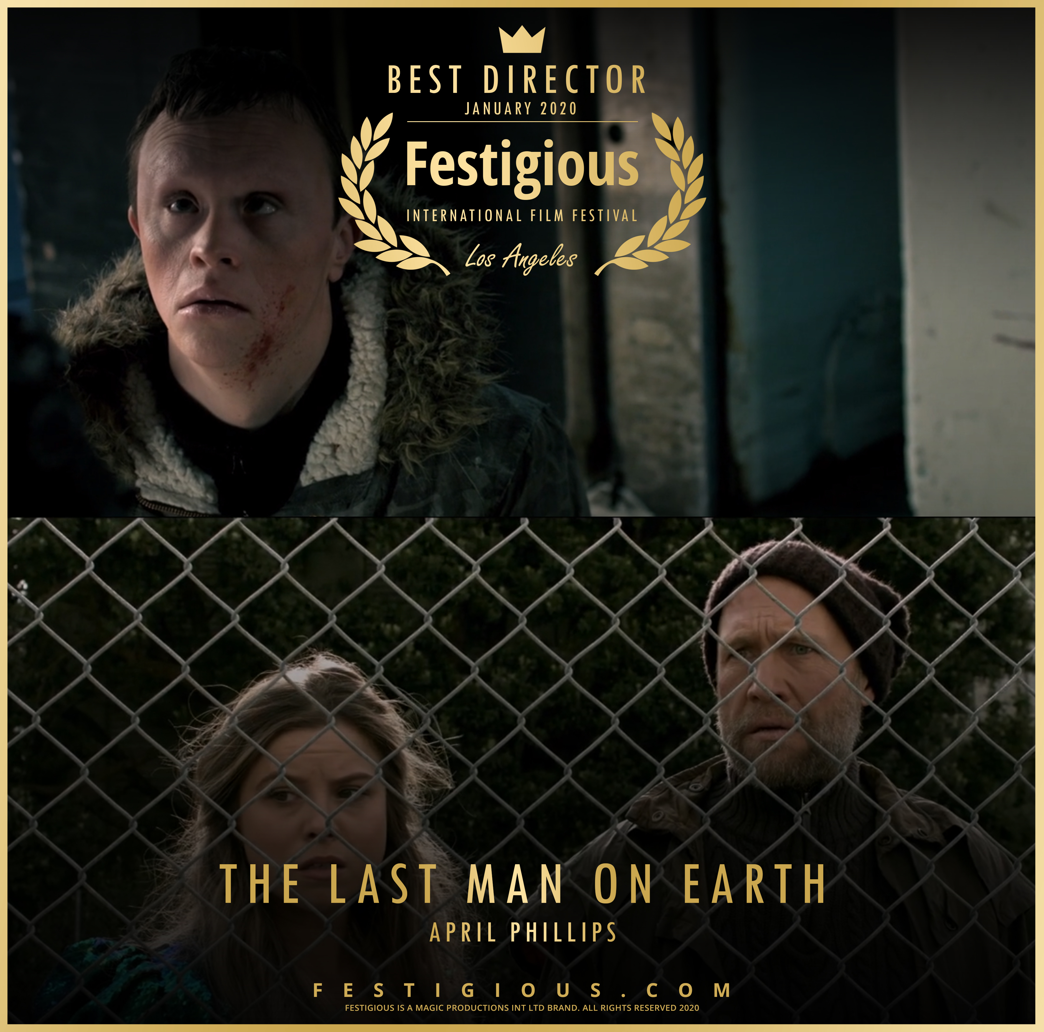 The Last Man on Earth design