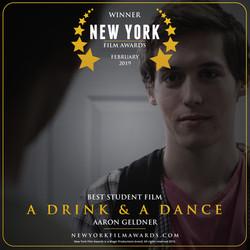 A Drink & A Dance design