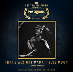 That's Alright Mama - Blue Moon design