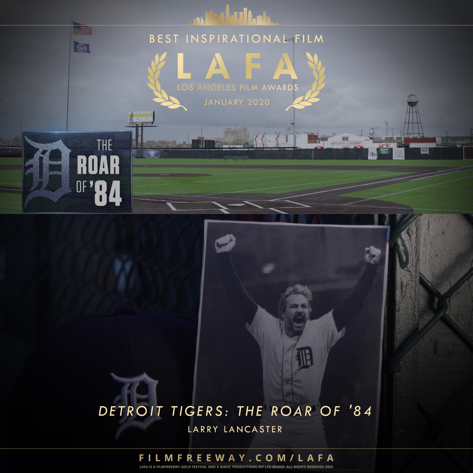 Detroit Tigers The Roar of '84 design