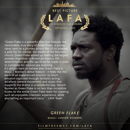 LAFA Winners - September 2020