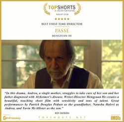 2018_08_Best_First_Time_Director_-_Passé