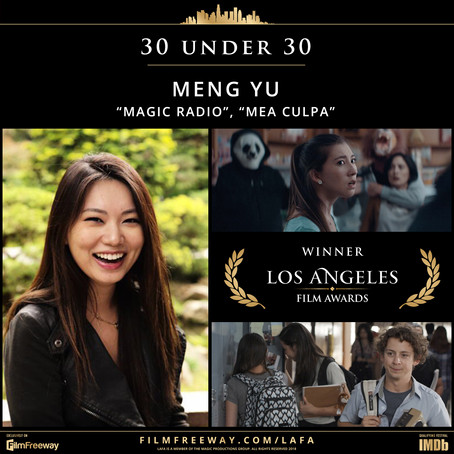 30 UNDER 30: A selection of 30 young & promising filmmakers