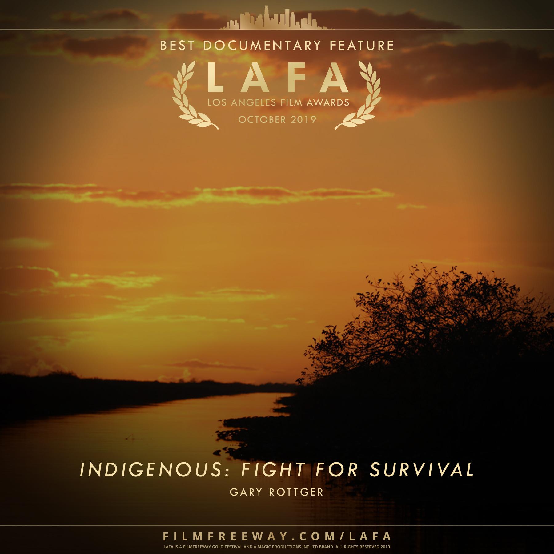 Indigenous Fight for Survival design
