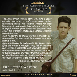 THE LETTER WRITER - Review
