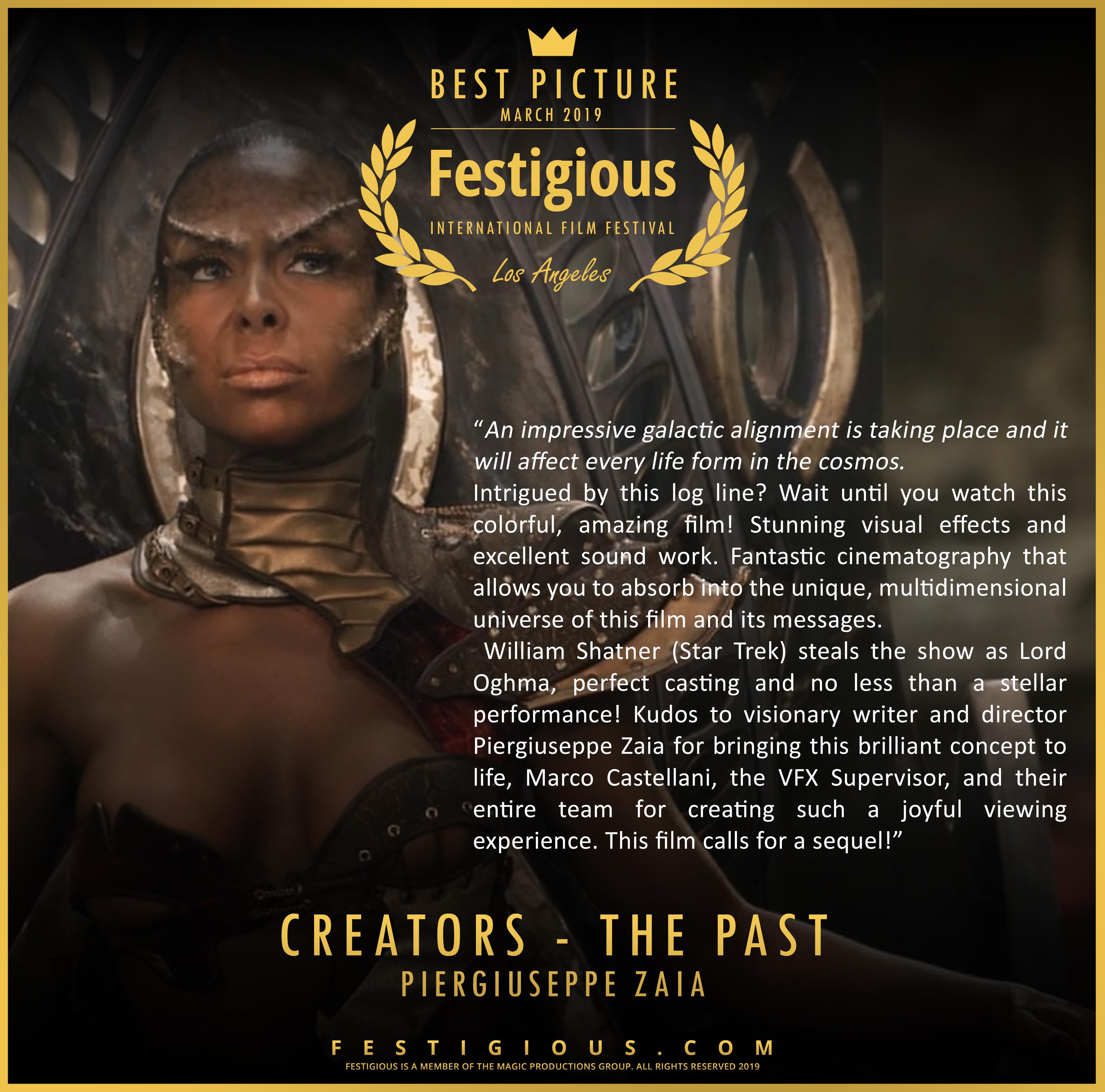 Creators - The Past design