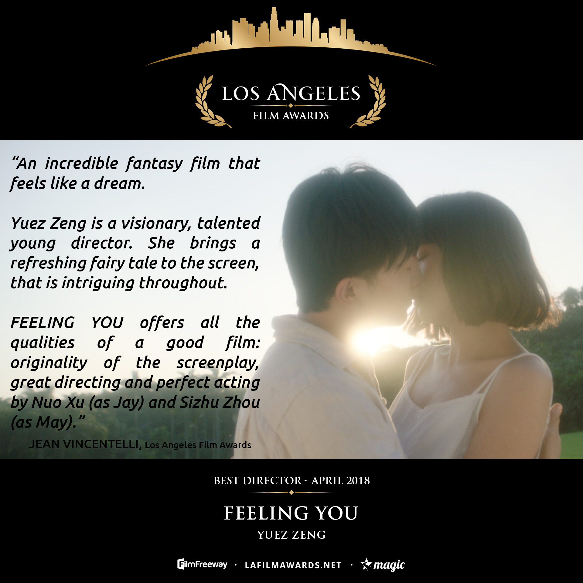 FEELING YOU - LAFA Best Director - Review