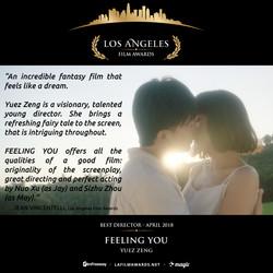 FEELING YOU - LAFA Best Director - Review