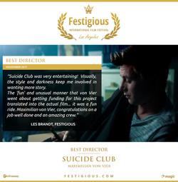 Suicide Club - Festigious Best Director - 2017 11