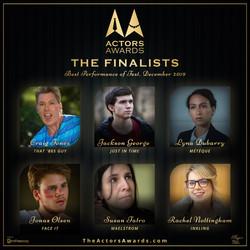 2019 12 Finalists