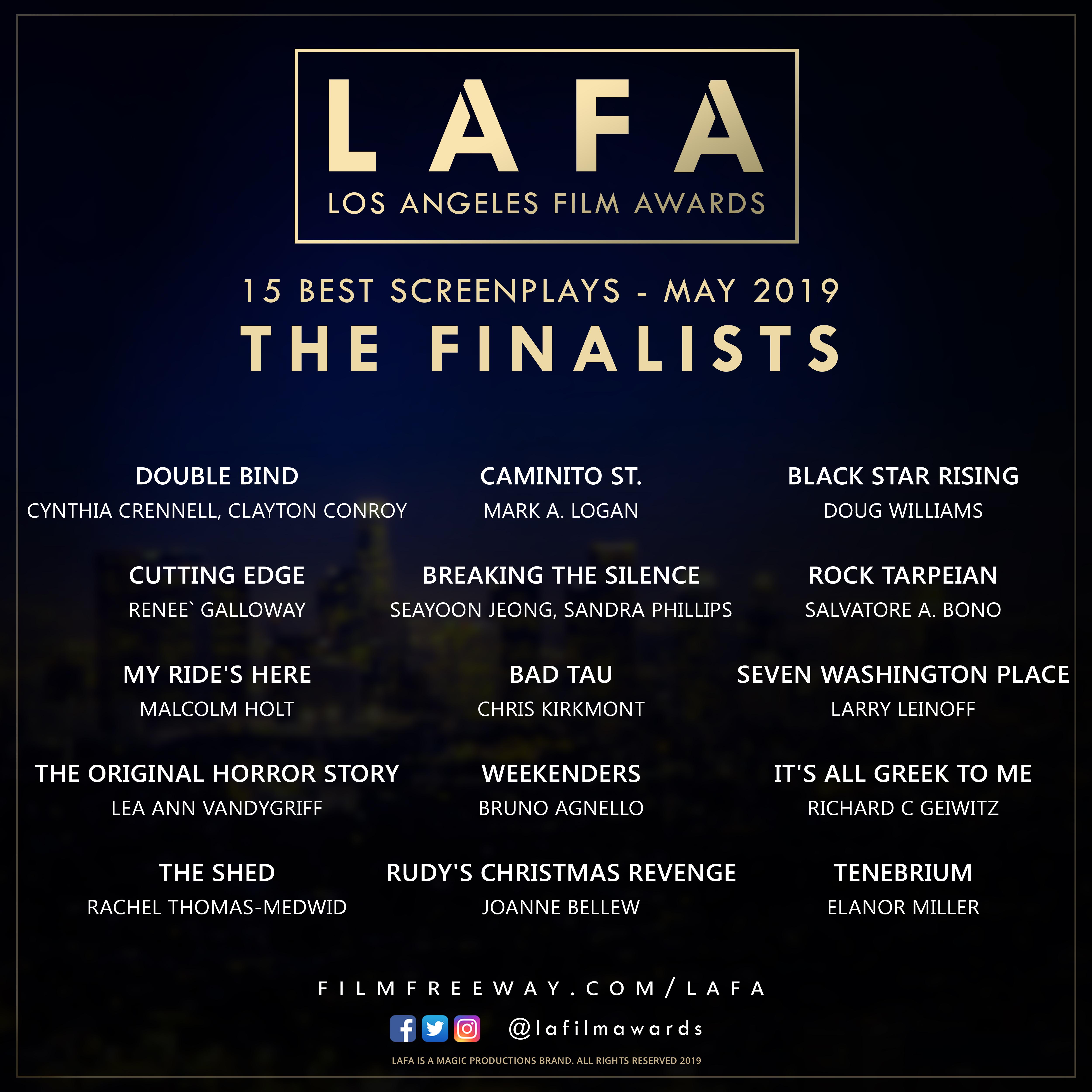 LAFA SCREENPLAY FINALISTS 2019 05.