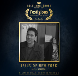 Jesus of New York design
