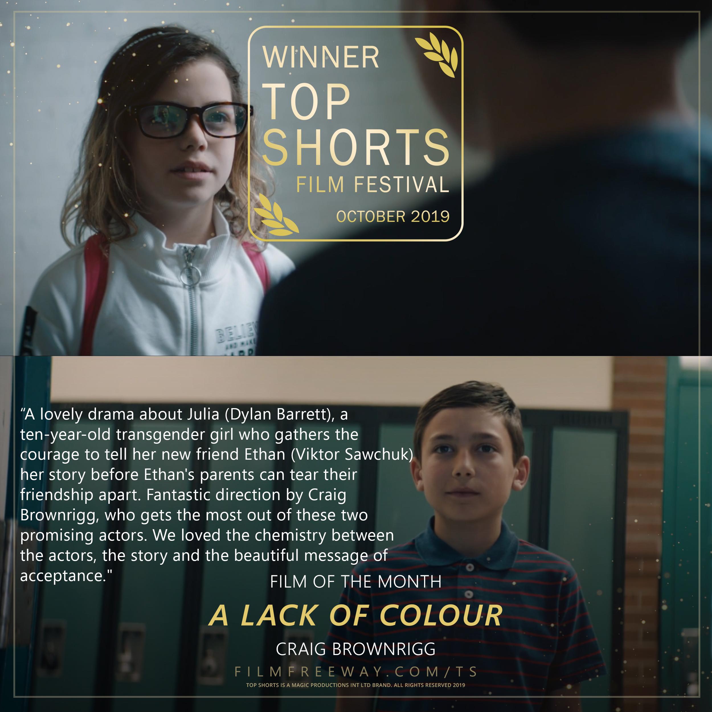 A Lack of Colour review