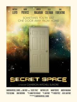 SECRET SPACE poster