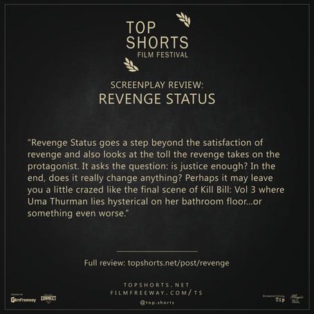 Screenplay Review: Revenge Status