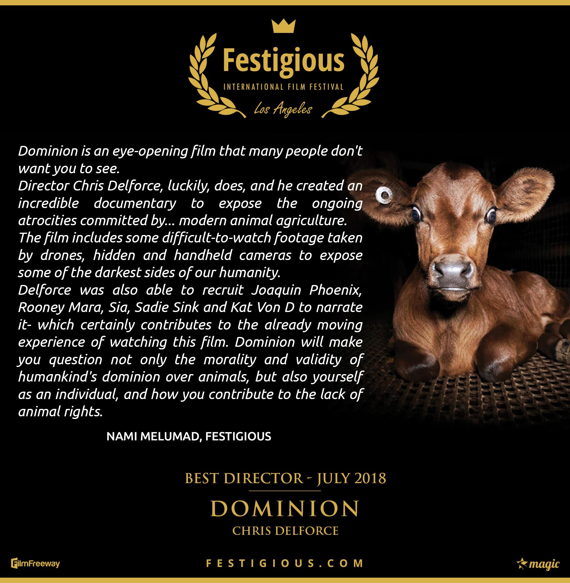 Dominion - Best Director