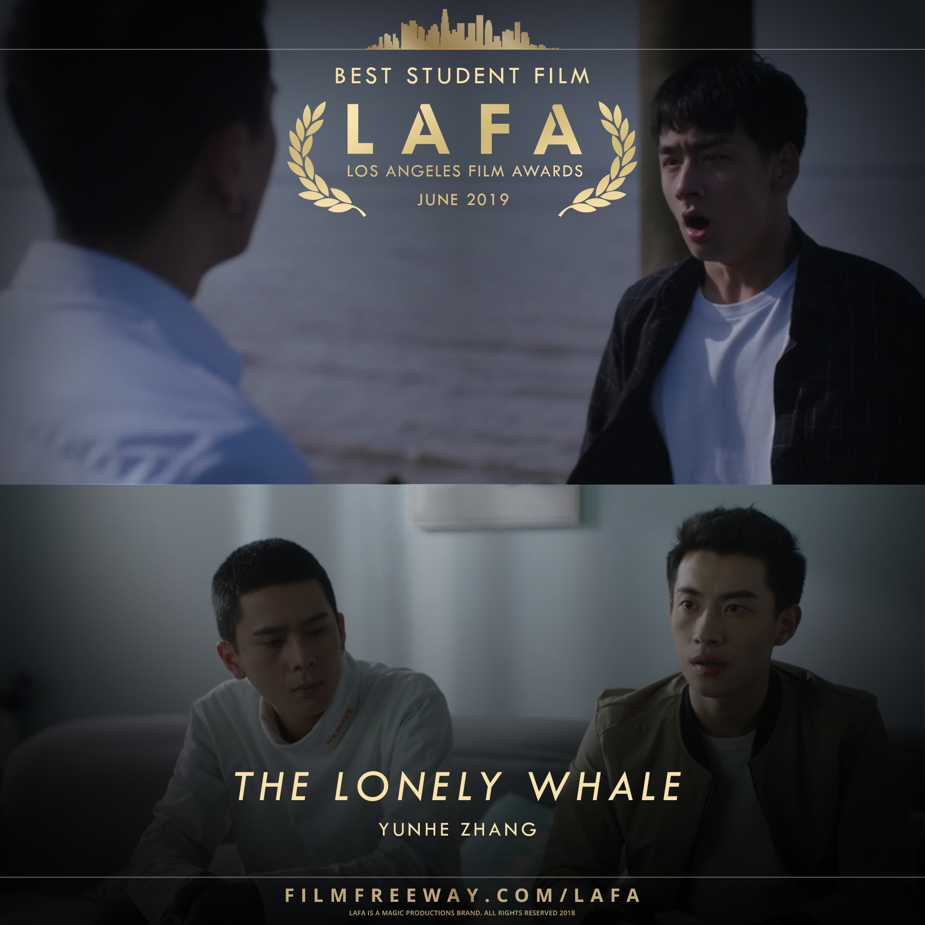 The Lonely Whale design