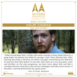The Last Divide - Best Actor
