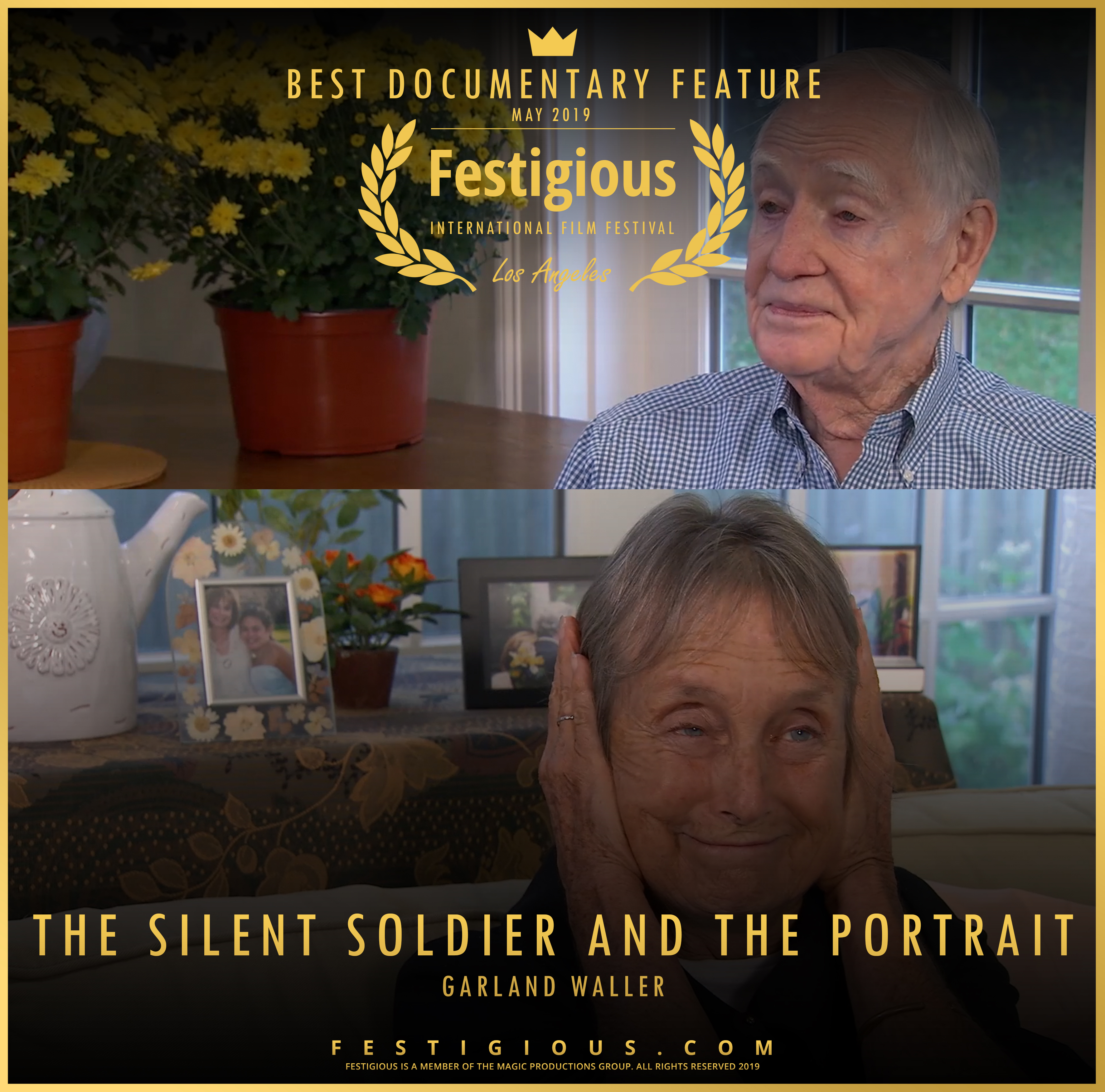 THE SILENT SOLDIER AND THE PORTRAIT desi
