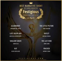 Festigious Best Narrative Short