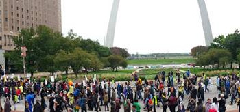 These Streets: March to the Arch            #FergusonOctober