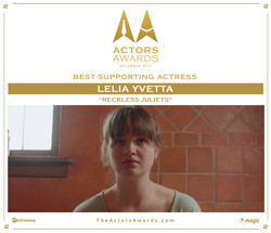 Reckless Juliets 2017 12 Best Supporting Actress