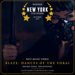 BLAZE Dances of the Yokai design