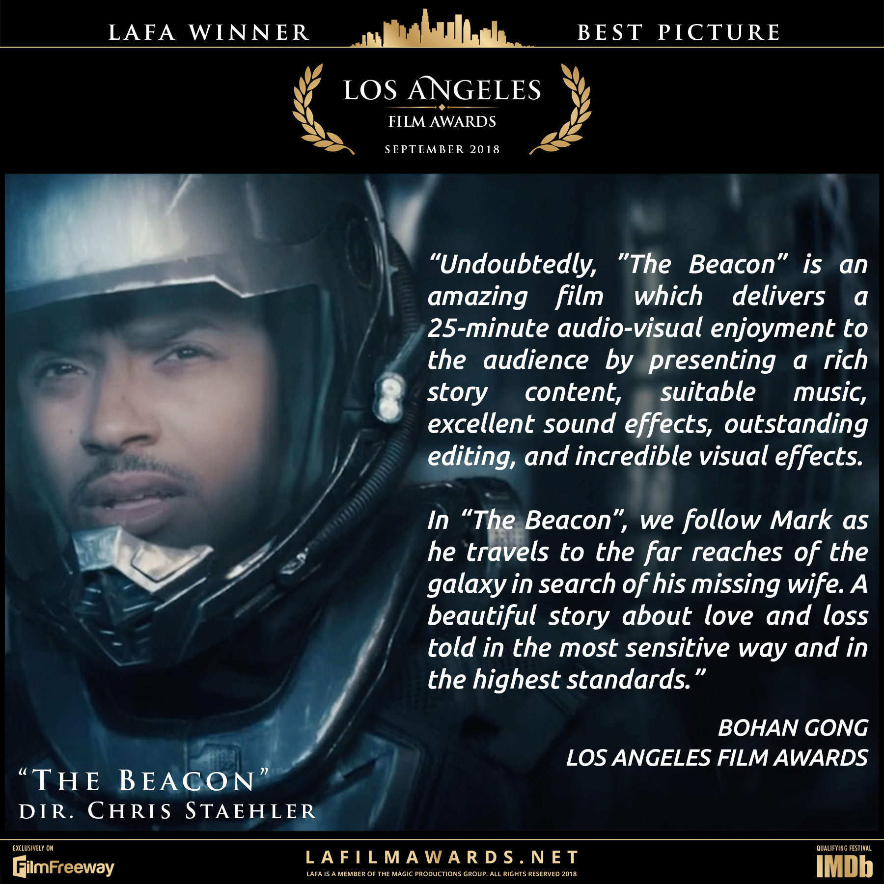 The Beacon - LAFA Best Picture - Review.