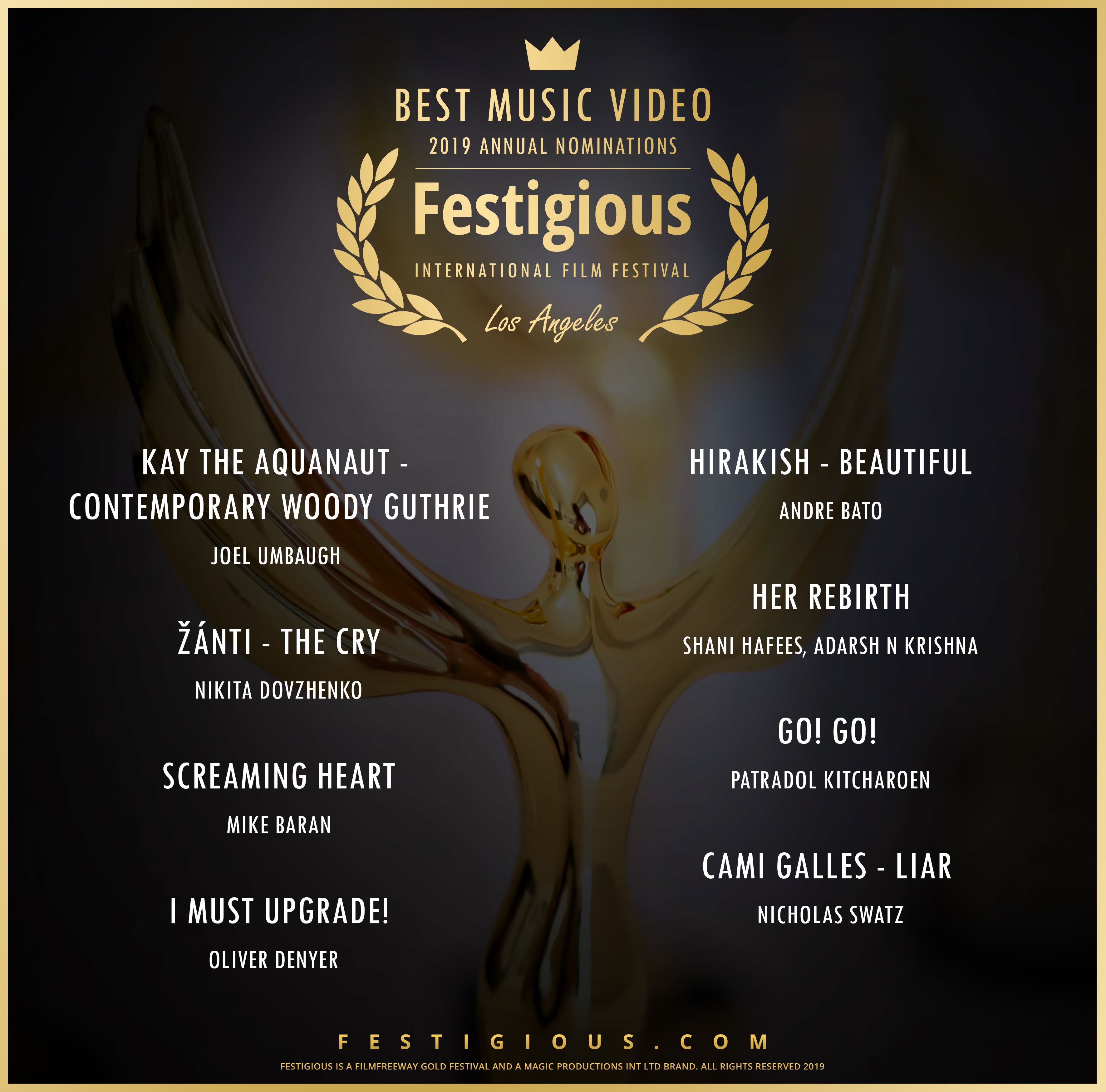 Festigious Best Music Video