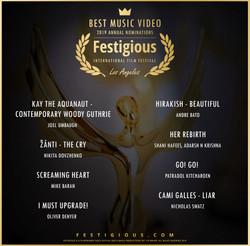Festigious Best Music Video