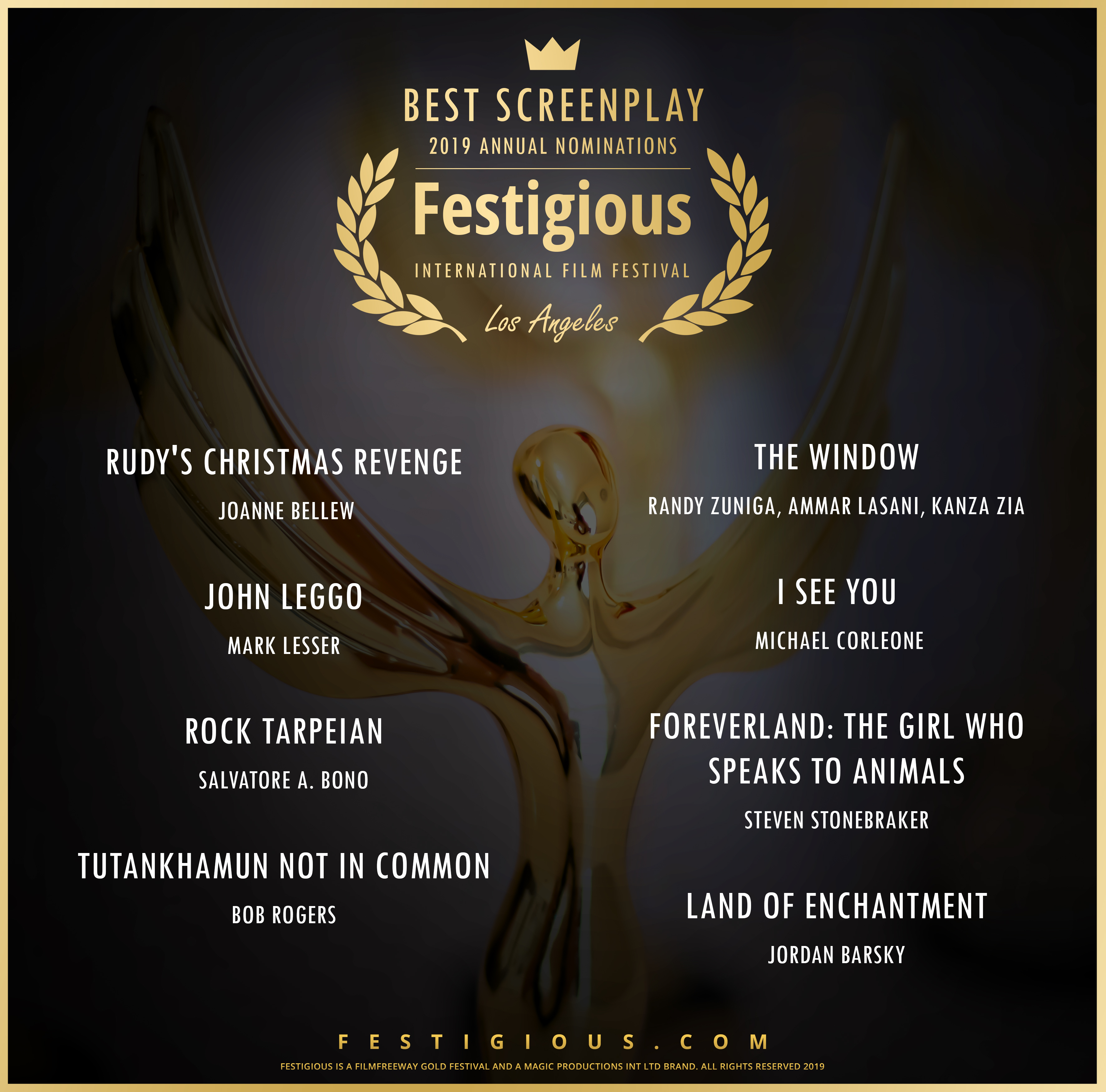 Festigious Best  Screenplay
