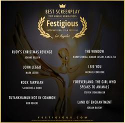 Festigious Best  Screenplay