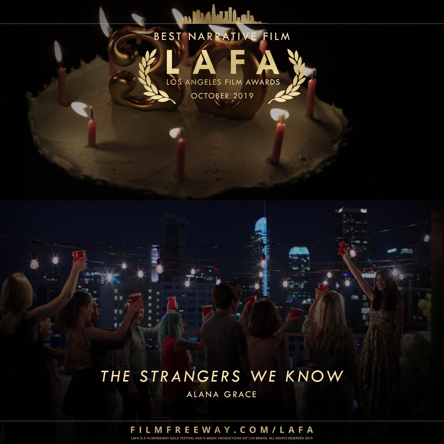 The Strangers We Know design