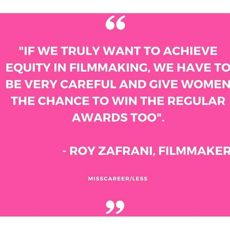 WE NEED TO EMPOWER WOMEN IN FILMMAKING
