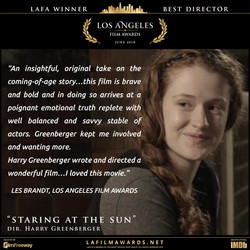 STARING AT THE SUN - LAFA Best Director - Review