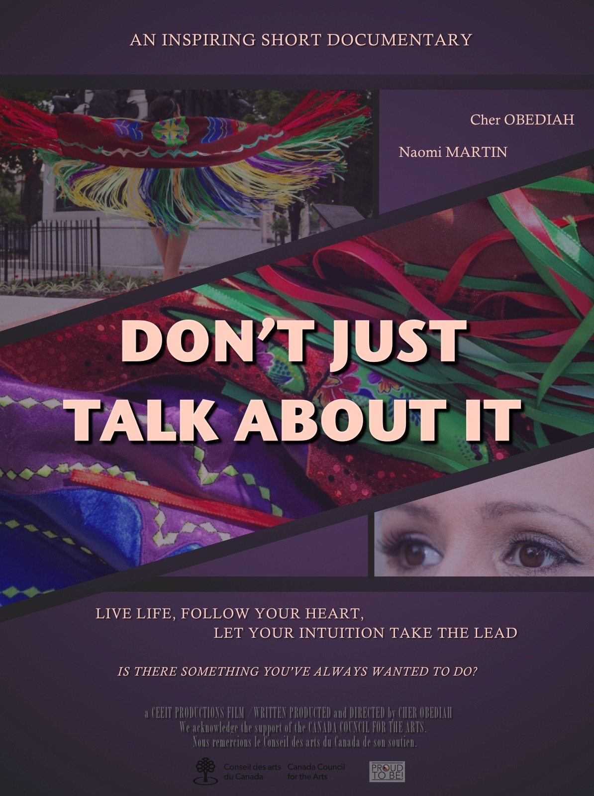 Don't Just Talk About It Poster