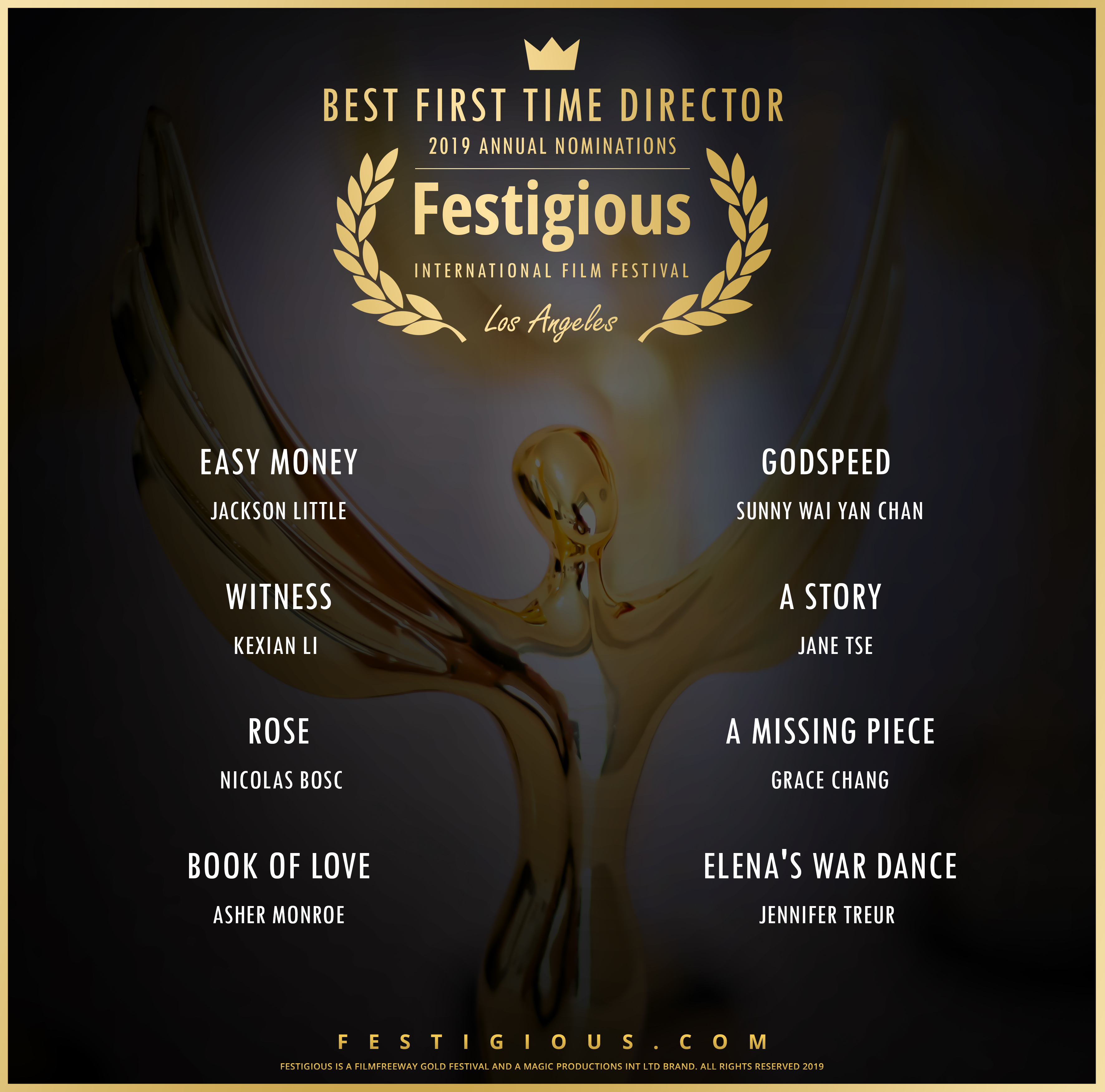 Festigious BeST First Time Director