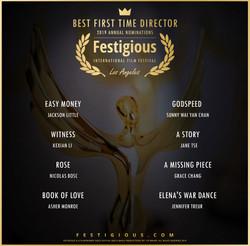 Festigious BeST First Time Director