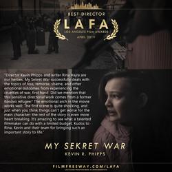 MY SEKRET WAR review
